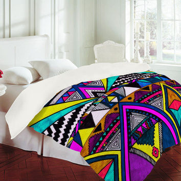 Kris Tate Tribal 2 Duvet Cover - Luxe Duvet Cover /