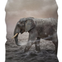 May the Stars Carry Your Sadness Away (Elephant Dreams) Mens Tank Top created by soaringanchordesigns | Print All Over Me