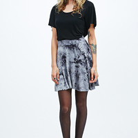 Staring at Stars Tie-Dye Skater Skirt in Mono - Urban Outfitters