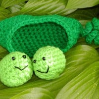 PATTERNAmigurumi 2 Peas in a PodHandmade by honeybee69 on Etsy
