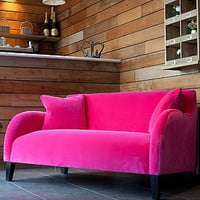 snug velvet sofa by rose & grey | notonthehighstreet.com