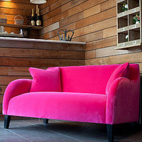 snug velvet sofa by rose &amp; grey | notonthehighstreet.com