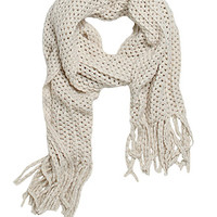 With Love From CA Popcorn Knit Fringe Scarf at PacSun.com