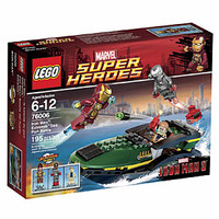 LEGO Marvel Super Heroes Iron Man: Extremis Sea Port Battle