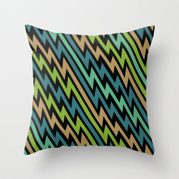 Path of Life Throw Pillow by Alice Gosling