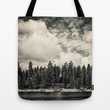 Far Away Clouds Passing By  Tote Bag by Tordis Kayma