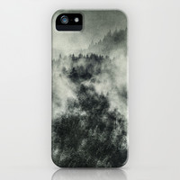 Recently // Dark Boogie Edit iPhone & iPod Case by Tordis Kayma