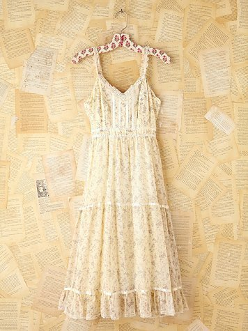 Free People Vintage Floral Sleeveless Dress