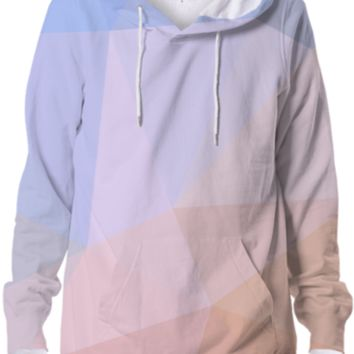 Cool Geometry Hoodie Abstract Polygonal Design created by all-over-print-t-shirts | Print All Over Me