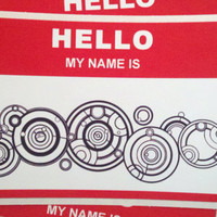 Doctor Who Name Tag - Doctor Who Cosplay Prop/Nametag for the Doctor