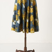 Settee Roses Skirt - Anthropologie.com