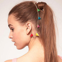 Triangle Bunting Ear Cuff