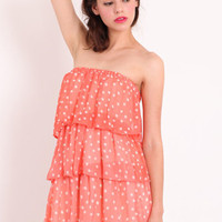 Summer Vibes Polka Dot Tunic Dress - &amp;#36;36.00 : ThreadSence.com, Your Spot For Indie Clothing  Indie Urban Culture