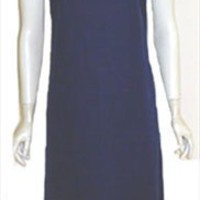 NPC Fashions Navy Blue Vintage 70s Dress