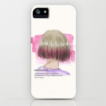 Nemesism iPhone & iPod Case by Sara Eshak