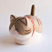 Kyoto Washi Solar Cat Grey Tabby