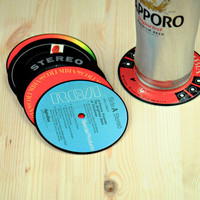 Record Label Coasters - Set of 6