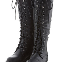 ModCloth Steampunk Stride Your Best Boot
