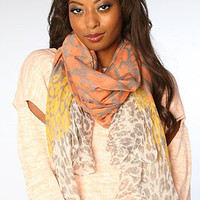 The Santorini Scarf in Gray