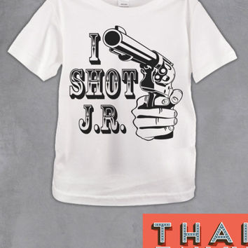 I Shot JR Kids T Shirt - Funny Action Iconic Kids Movie T Shirts