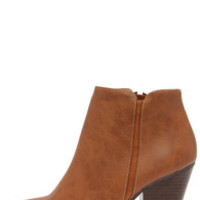 Chic Street Tan High Heel Ankle Boots
