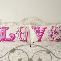 'Love' Pillowcase Set