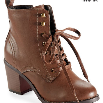 Lace-Up Combat Boot