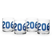 Sisters of Los Angeles 'Area Code' Double Old Fashioned Glasses (Set of 4) | Nordstrom