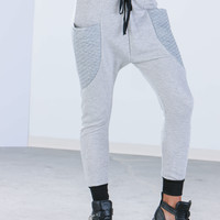 Luxe Sport Quilted Joggers GoJane.com