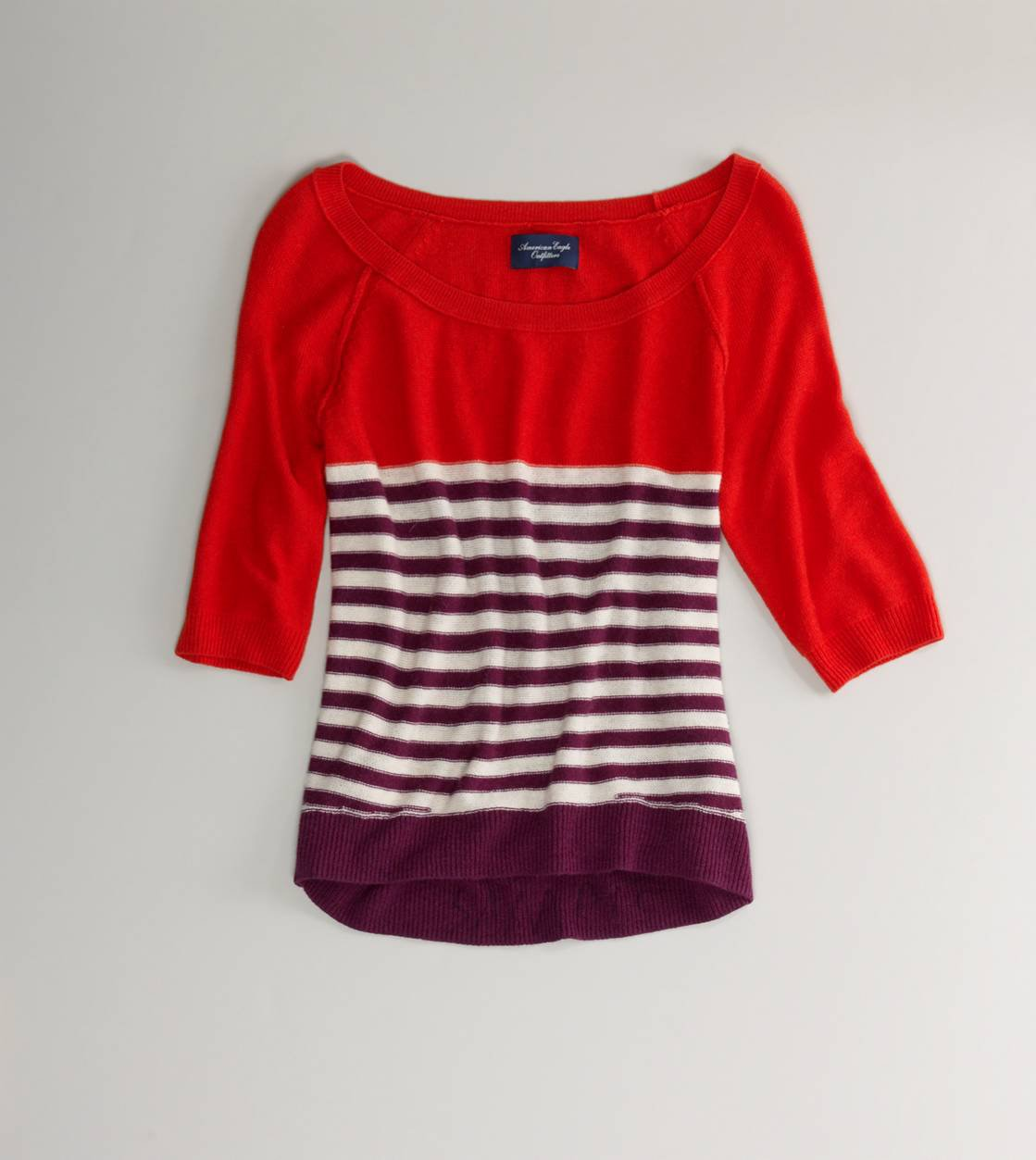 AE Colorblock Stripe Sweater | American Eagle Outfitters