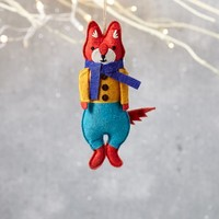 Mimi Kirchner Forest Animal Ornament - Boy Fox
