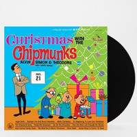 The Chipmunks - Christmas With The Chipmunks LP - Urban Outfitters