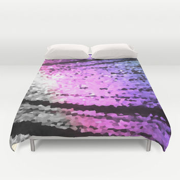 Cool Tone Lovelies Duvet Cover by 2sweet4words Designs