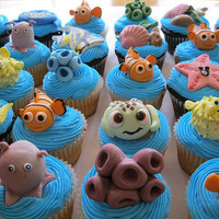 Nemo Cupcakes | Cute Cupcakes | CutestFood.com
