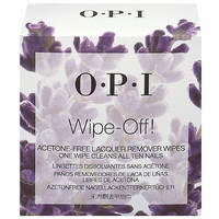 Wipe-Off Acetone-Free Lacquer Remover Wipes