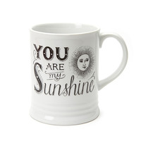 FOREVER 21 Sunshine Mug White/Black One