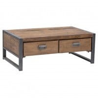 Barlett 2 Drawer Coffee Table - Accent Tables - Furniture