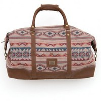 obey - women's sierra duffle bag (heather tan) - obey | 80's Purple
