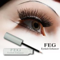 FEG BEST Eyelash Enhancer Enhancing Growth Serum Helps To Make & Grow Eyelashes And Eyebrows Longer and Thicker. Eye Lash Accelerator Conditioner Product Enhance and Grow Regrow and Lengthen Thick Long Lashes and Eyebrows, HIGHEST QUALITY Natural Eyelash G