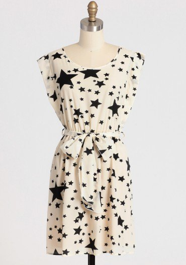 twinkling stars dress at ShopRuche.com