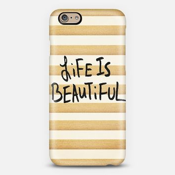 Life Is Beautiful iPhone 6 case by Sandra Arduini | Casetify