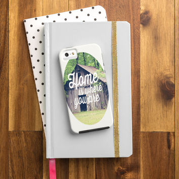 Allyson Johnson Home Is Where You Are Cell Phone Case
