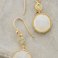 Marchmont Drops by Anthropologie Mint One Size Earrings