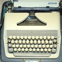 Adler J3 Vintage Typewriter Made in Western Germany