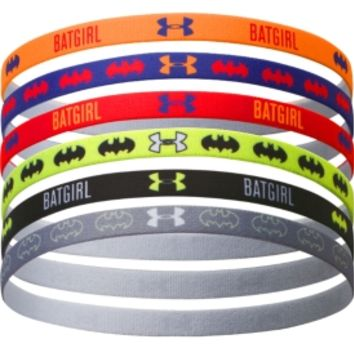 Under Armour Women's Alter Ego Batgirl Graphic Mini Headbands - Six Pack
