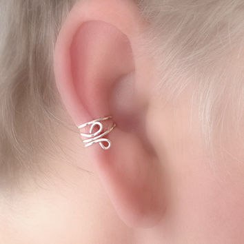 Ear Cuff/Simple Everyday Single Cuff /Your Choice of Colors