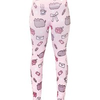Pusheen Legging All-Over - One Size