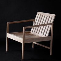 White Oak Patio Chair