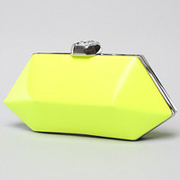 Neon Clutch in Yellow