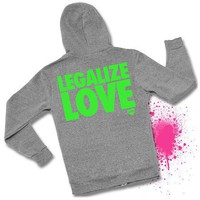 Grey Alternative Apparel Hoodie